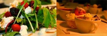 starters desserts tirohana restaurant